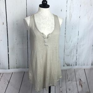 Bobi Linen Tunic Tank Top